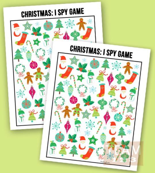 เกมส์สปายสนุกๆ ดาวน์โหลดเล่นวันคริสต์มาส