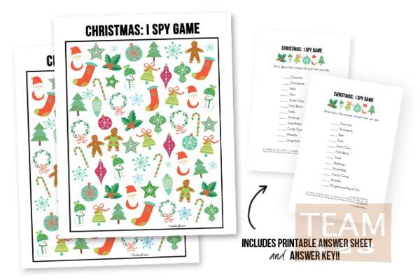 รูป 2 เกมส์สปายสนุกๆ ดาวน์โหลดเล่นวันคริสต์มาส