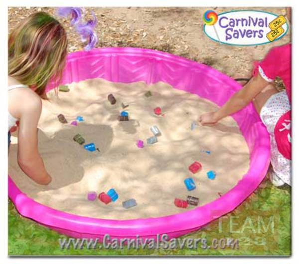เกมส์หาของที่ซ่อนอยู่ ในบ่อทราย