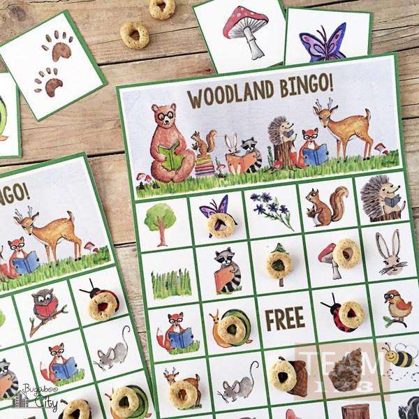 รูป 2 เกมส์บิงโกสนุกๆ สัตว์ป่าน่ารัก
