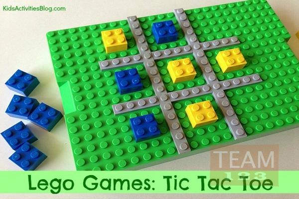 เกมส์บอร์ดสนุกๆ Tic Tac Toe เลโก้