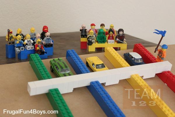 รูป 1 สอนทำเกมส์แข่งรถของเล่น จากเลโก้